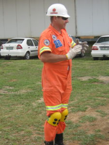 PPE demonstration