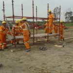 slurry scaffold